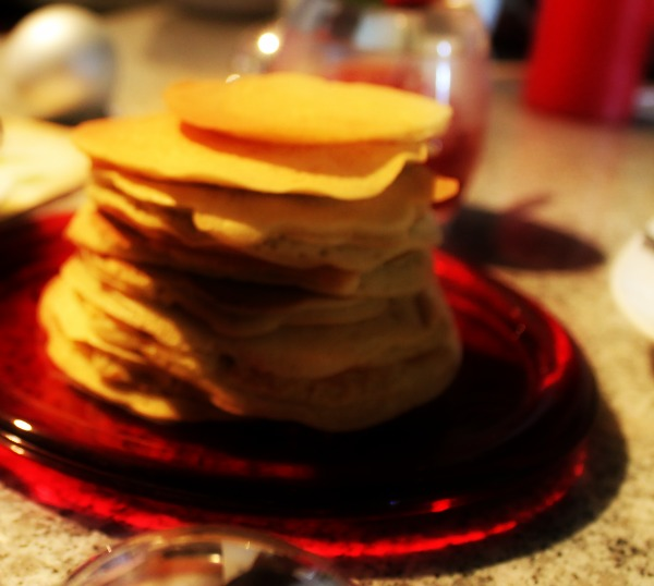 A propósito del Pancake Day, panqueques hechos en casa.