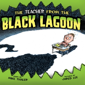 La portada del libro The teacher from the Black Lagoon.