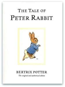 La portada de Pedro el conejo en inglés.
