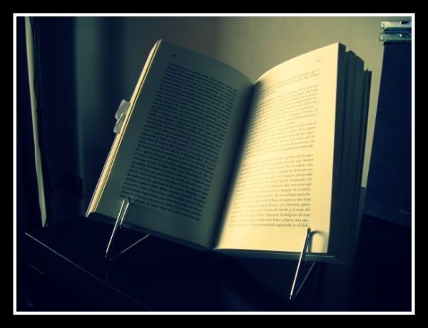 El libro abierto es, de hecho, Leñador.