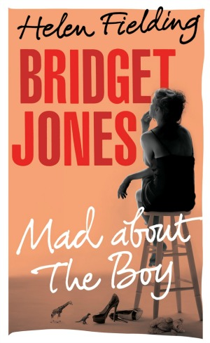 La portada de Bridget Jones. Mad about the boy.