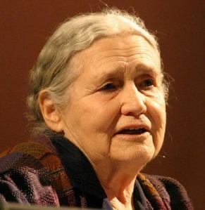 Doris Lessing recibió el Premio Nobel de Literatura en 2007.