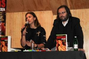 Dos de los autores: María José Viera-Galo y Francisco Ortega.
