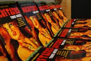Las copias de Machetazos en la librería