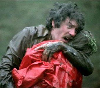Donald Sutherland en No mires ahora, de Nicholas Roeg.