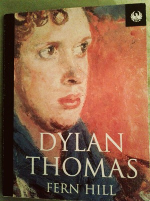 "Mi pequeño libro de Dylan Thoman, en el que leí ""I see the boys of summer""."