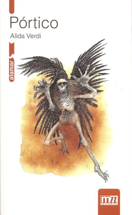 La portada de Pórtico, de Alida Verdi