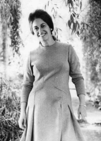 Cecilia Casanova en 1960